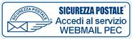 Accedi al servizio webmail PEC